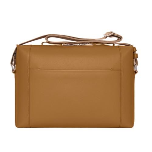 メッセンジャーバッグ - Flake - Granulated Leather