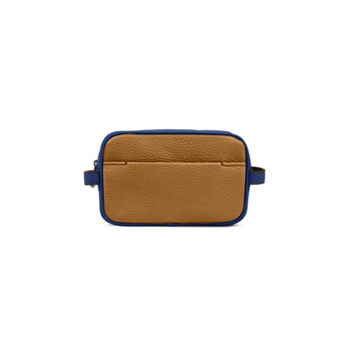 Small Dopp Kit - Flake-Submarine - Granulated Leather