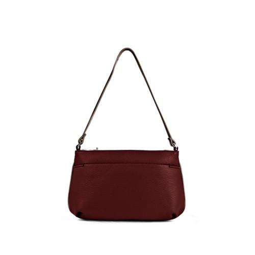 Wristlet - White-Mink - Granulated Leather