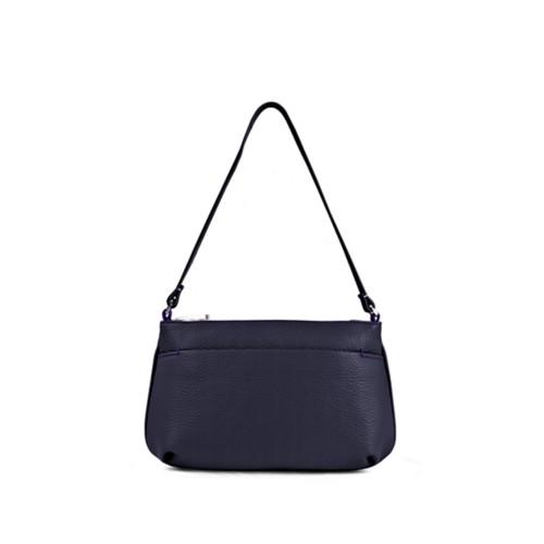 クラッチバッグ - Purple - Granulated Leather