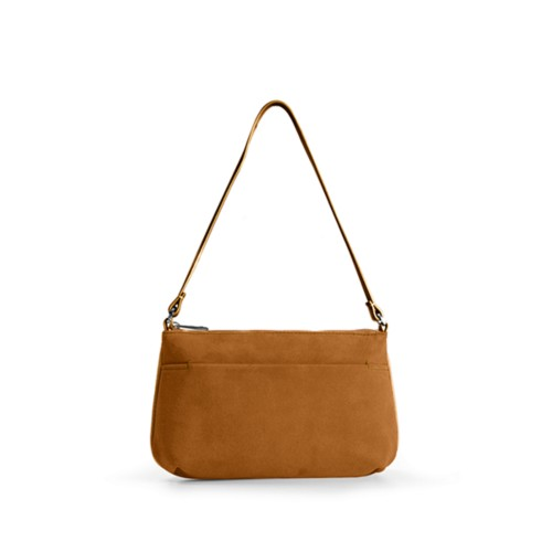 Wristlet - Natural - Suede Calf