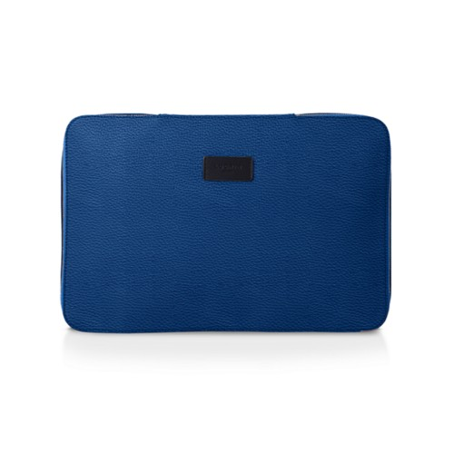 Shirt case - Royal Blue - Granulated Leather
