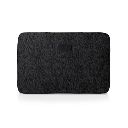 Shirt case - Black - Granulated Leather
