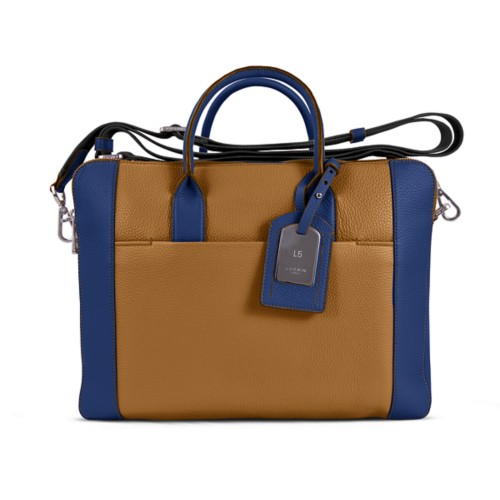 Travel briefcase - Flake-Submarine - Granulated Leather
