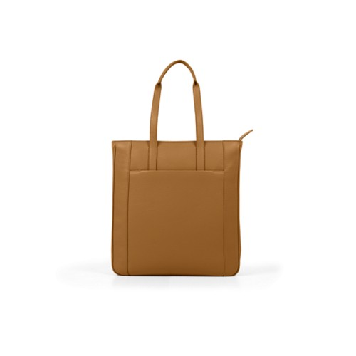 Unisex Tote Bag - Flake - Granulated Leather
