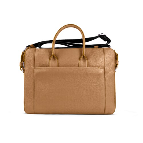 Portfolio bag 15-inch - Natural - Granulated Leather