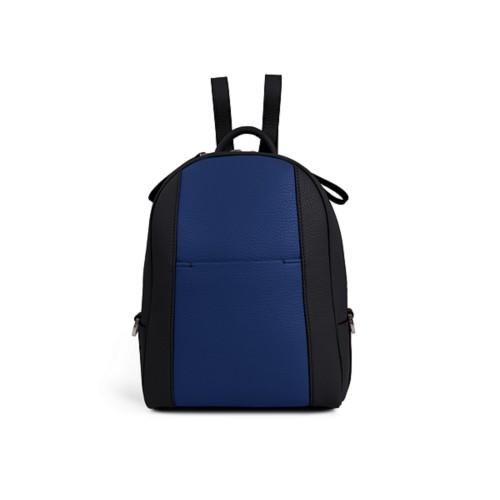Mini backpack - Black-Submarine - Granulated Leather