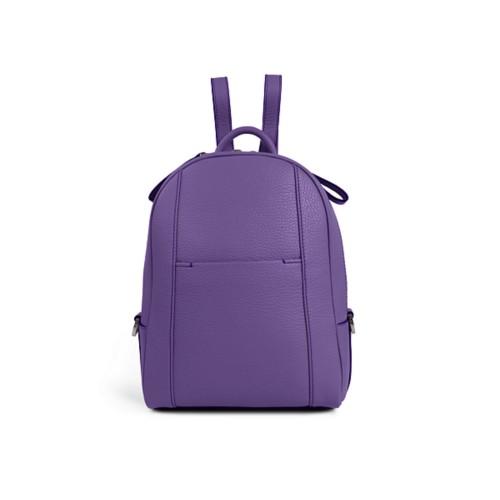 ミニリュックサック - Lavender - Granulated Leather