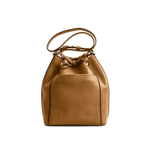 Bucket bag - Flake - Granulated Leather