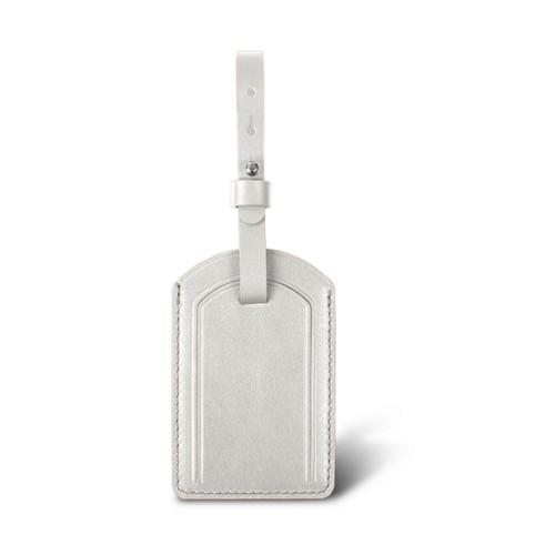 ラグジュアリーラゲージタグ - White - Smooth Leather
