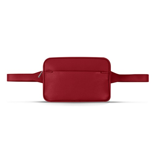 L5 Bum Bag - Amaranto - Granulated Leather