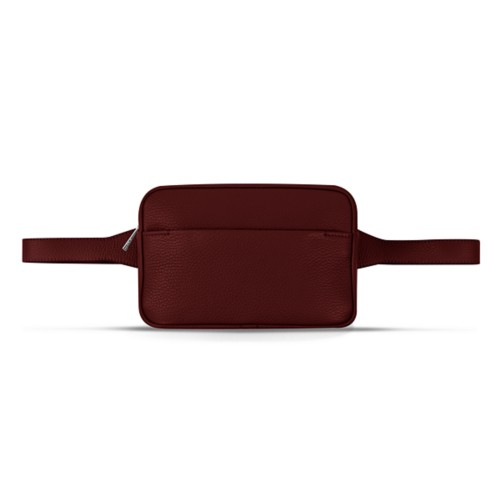 L5 Fanny Pack - Burgundy - Granulated Leather