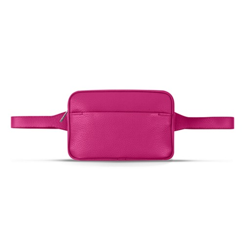 L5 Bum Bag - Fuchsia - Granulated Leather