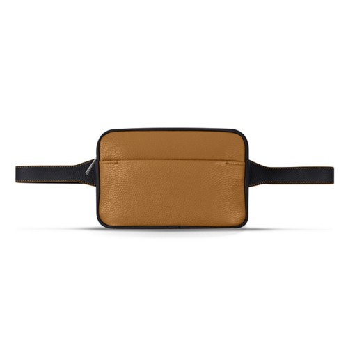 L5 Fanny Pack - Flake-Black - Granulated Leather