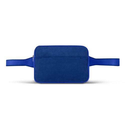 L5 Bum Bag - Royal Blue - Suede Calf
