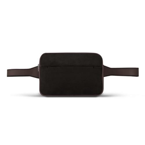 L5 Bum Bag - Dark Brown - Suede Calf