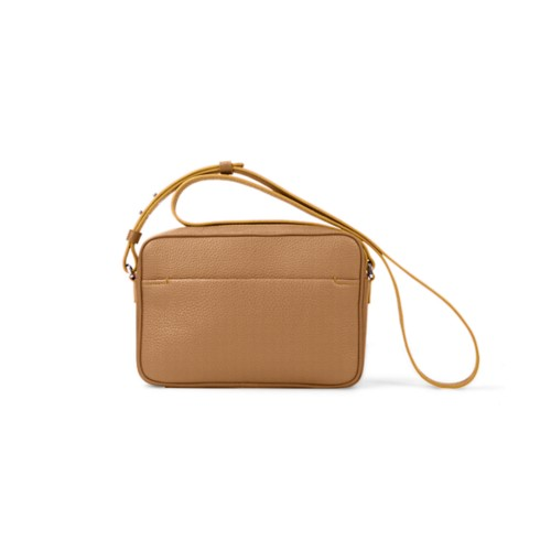 Small Crossbody Bag L5 - Natural - Granulated Leather