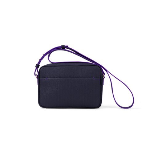Small Crossbody Bag L5 - Purple - Granulated Leather