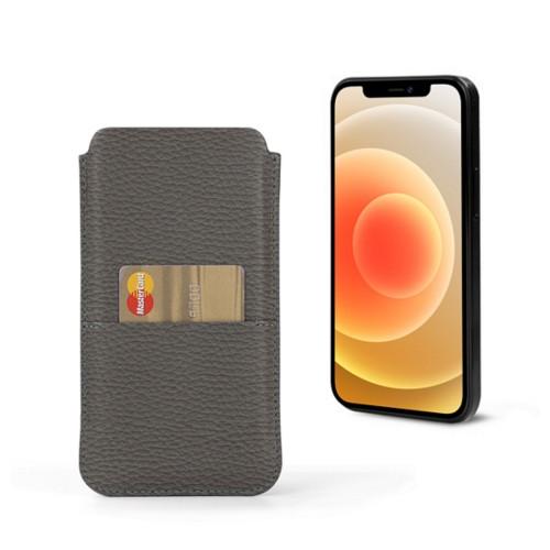 Housse iPhone 12 Max avec poche