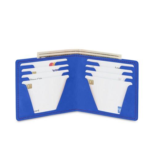 Portafoglio sottile per carte
