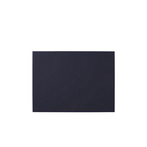 Steife Dekorative Schreibunterlage (44 x 27 cm) - Violett - Glattleder