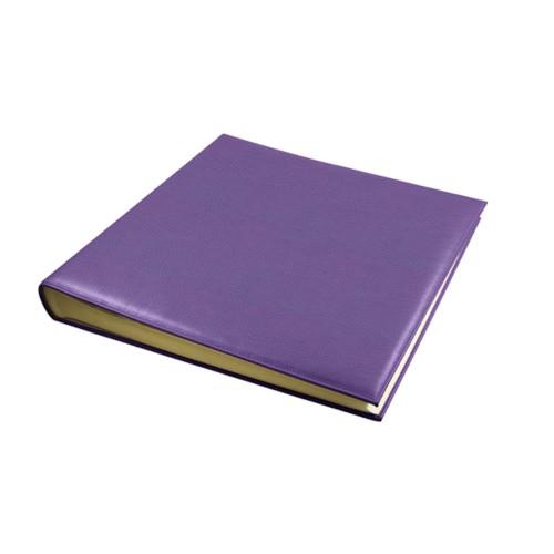 Fotoalbum - 30 vellen (36 x 36 cm) - Lavendel - Korrelig Leer