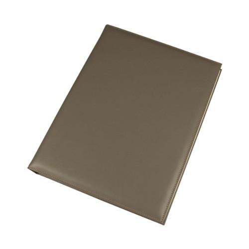 Fotoalbum - 30 vellen (30 x 24 cm) - Donker Taupe - Soepel Leer