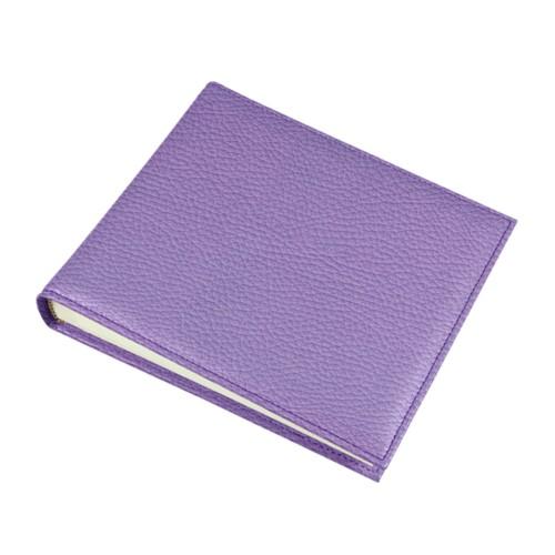 Fotoalbum – 30 vellen (19 x 16 cm) - Lavendel - Korrelig Leer