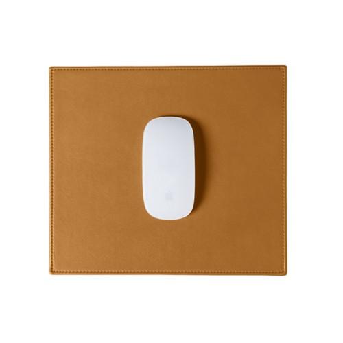Tapis de souris rectangulaire (26.5x22.5 cm) - Naturel - Cuir Lisse