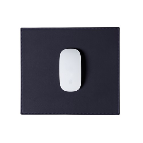 Rectangular Mouse Pad - Purple - Smooth Leather