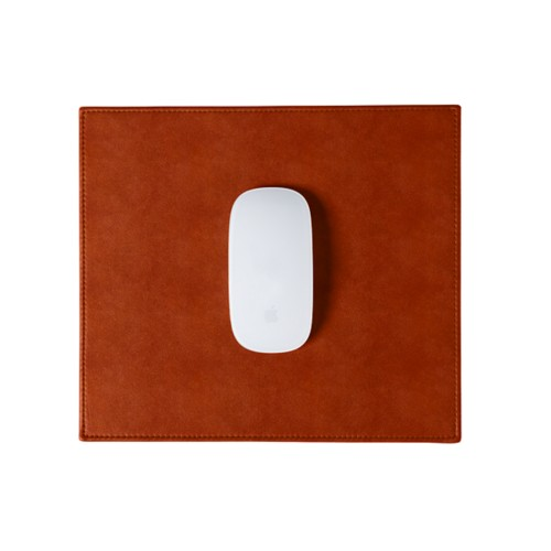 Rectangular mouse pad - Tan - Vegetable Tanned Leather