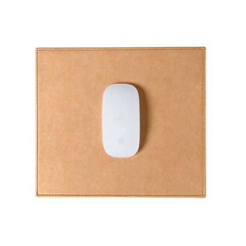 Tapis de souris rectangulaire (26.5x22.5 cm) - Naturel - Cuir végétal
