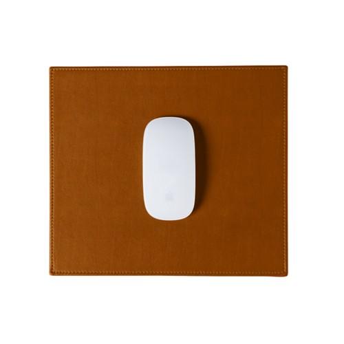 Tapis de souris rectangulaire (26.5x22.5 cm) - Naturel - Cuir Reconstitué