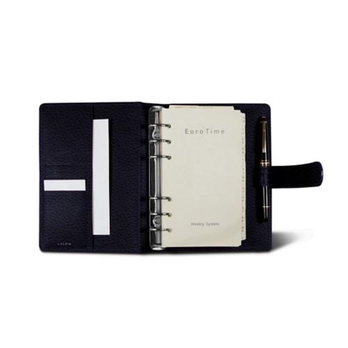 Medium Organizer (140 x 195 mm) - Purple - Granulated Leather