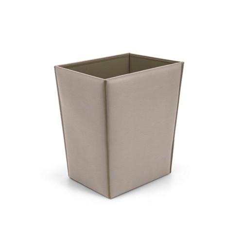 Cesta de papel rectangular