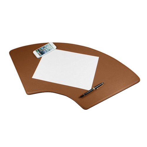 Round desk pad 27.6x12.6 inches