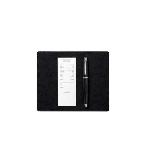 Tappetino sottofirma (20 x 17 cm) - Nero - Pelle conciata al vegetale