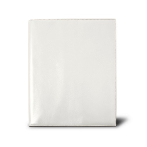 Week-to-week Desk Diary (7.1x 8.7 inches) - White - Smooth Leather