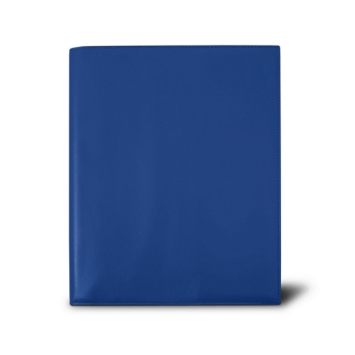 Week-to-week Desk Diary (7.1x 8.7 inches) - Royal Blue - Smooth Leather