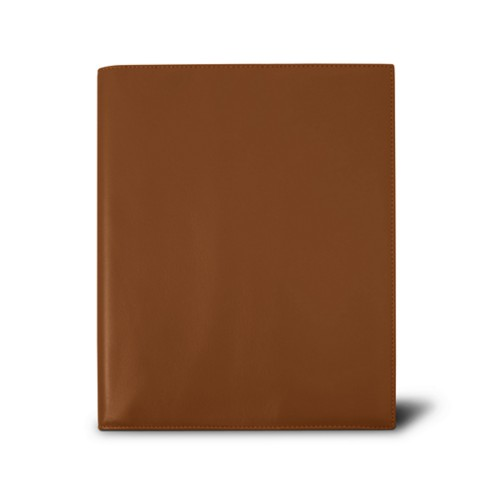 Week-to-week Desk Diary (7.1x 8.7 inches) - Tan - Smooth Leather