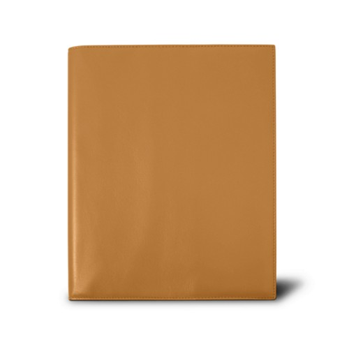 Week-to-week Desk Diary (7.1x 8.7 inches) - Natural - Smooth Leather