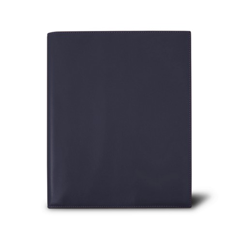 Week-to-week Desk Diary (7.1x 8.7 inches) - Purple - Smooth Leather