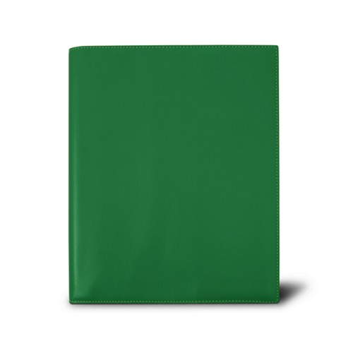 Week-to-week Desk Diary (7.1x 8.7 inches) - Light Green - Smooth Leather