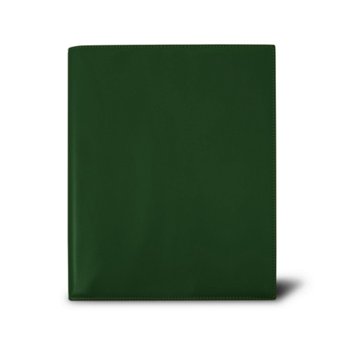 Week-to-week Desk Diary (7.1x 8.7 inches) - Dark Green - Smooth Leather