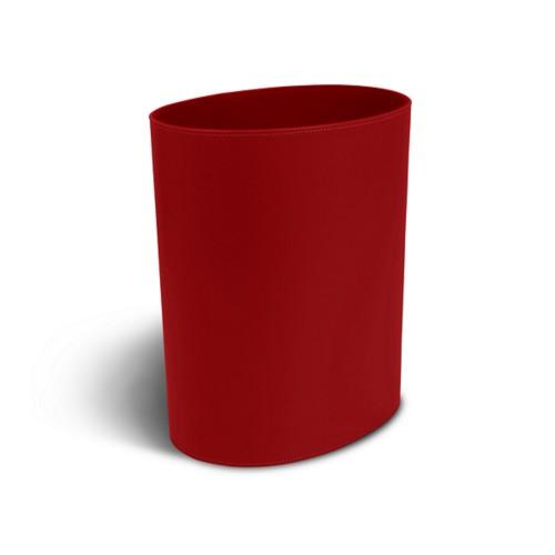 Oval paper waste basket