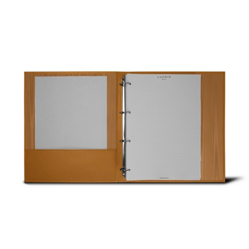 A4 Ring binder - 4 rings (200 sheets)
