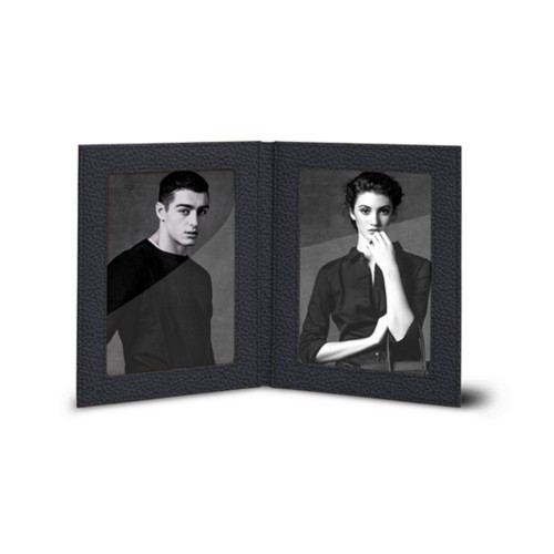 Double picture frame (14.5 x 19 cm)