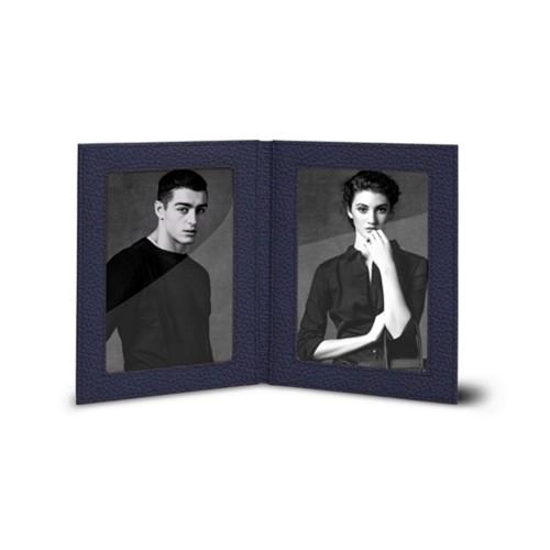 Portafoto portatile per 2 fotografie 14,5 x19 cm