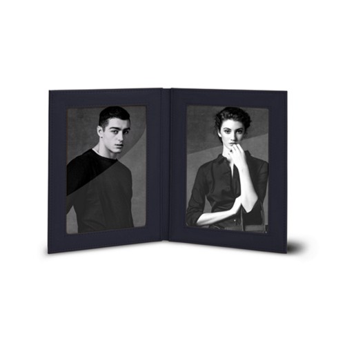 "Double picture frame (5.7"" x 7.5"")"