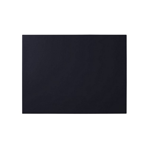 Custom desk pad (60 x 40 cm) - Navy Blue - Smooth Leather